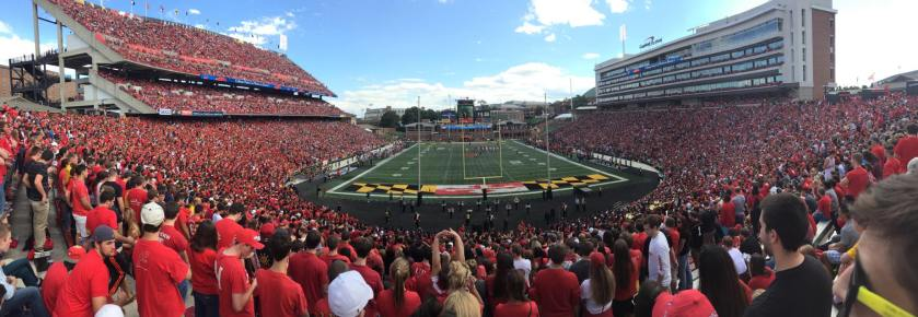 Fall 2014 Homecoming at Byrd Stadium (Alan Liu)