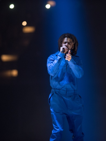 J. Cole performed at Royal Farms Arena on Sunday, August 6th, as part of his 4 Your Eyez Only tour.