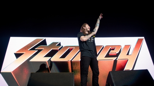 Post Malone and Future performed at Royal Farms Arena on Monday, August 21, 2017.