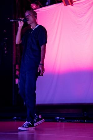 Sydney 'Syd' Bennett performed at Baltimore Soundstage on Friday, October 13, 2017.