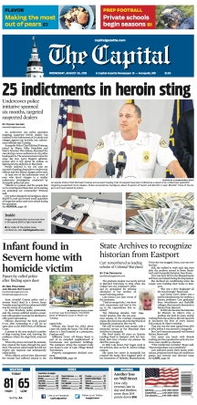 The Capital Front Page - 10/26/2015