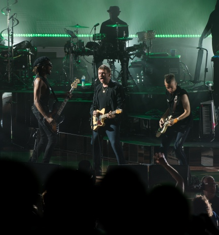 The Gorillaz performed at Merriweather Post Pavilion on Monday, July 17, 2017.