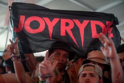 Joyryde performed at Moonrise Festival 2017.
