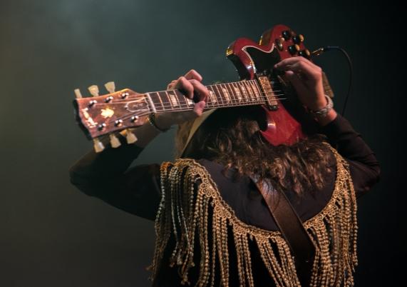 Guitarist Jake Kiszka. Greta Van Fleet performed at Rams Head Live! on Wednesday, May 10.